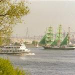 Bergedorf (1954) 015 im Mai 1989 (Hafengeburtstag)