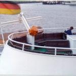 Bergedorf (1954) 021 (Details Oberdeck, Freideck) im Herbst 1995