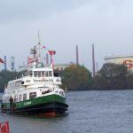 Verkehrshistorischer Tag in Hamburg - Anfahrt Anleger Harburg