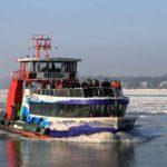 Kleine Eiszeit auf der Elbe im Dezember 2010_1