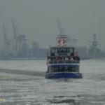 Elbmeile (2005) 007 am 17.1.2009 im Eis auf der Norderelbe