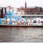 Kirchdorf (1962) 024 am 12.1.2000 als Kinderschiff am Betriebshof Fischmarkt