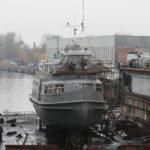 Reeperbahn im Dock in St. Petersburg Winter 10/11_2