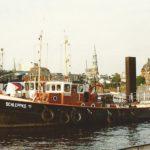 SCHLEPPKO 11 am 19.6.1992, Hamburg, Elbe, Schlepperponton Vorsetzen_1