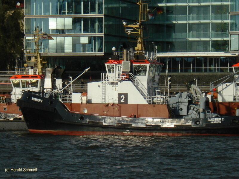 Bugsier 2 (3) (2006) 003 am 20.10.2008 am Schlepperponton Neumühlen