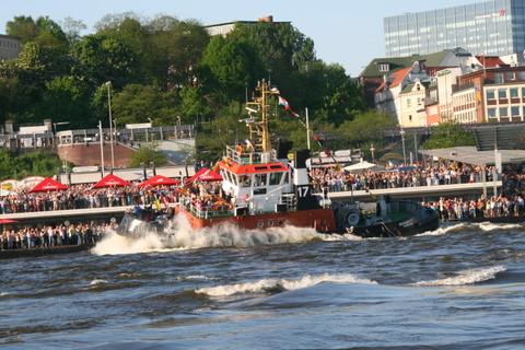 Schlepperballett,Hafengeburtstag 2008