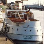 Schulau (1955) 012 im März 1989 an den Landungsbrücken