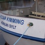 """Die """"Kloar Kimming"""" ex """"Westerland"""" am 1.1.08"""