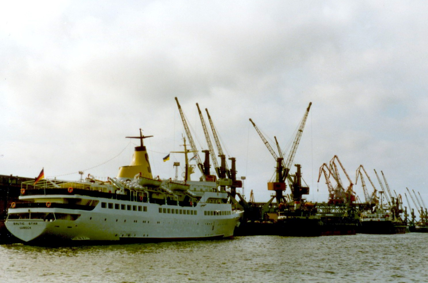 """Baltic Star"" 1991 in Rostock"