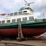 ALFANDA auf der Werft in Gilleleje Ende Mai 2012_3