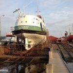 ALFANDA auf der Werft in Gilleleje Ende Mai 2012_4