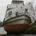"""""""Alte Werder"""" auf der Werft am 11.04.08"""