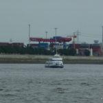 Die Tonne unterwegs auf der Elbe_1