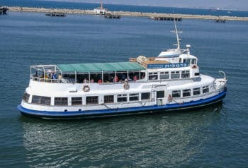 Die ehemalige HADAG-Hafenfähre EPPENDORF als CARMELIT in Israel