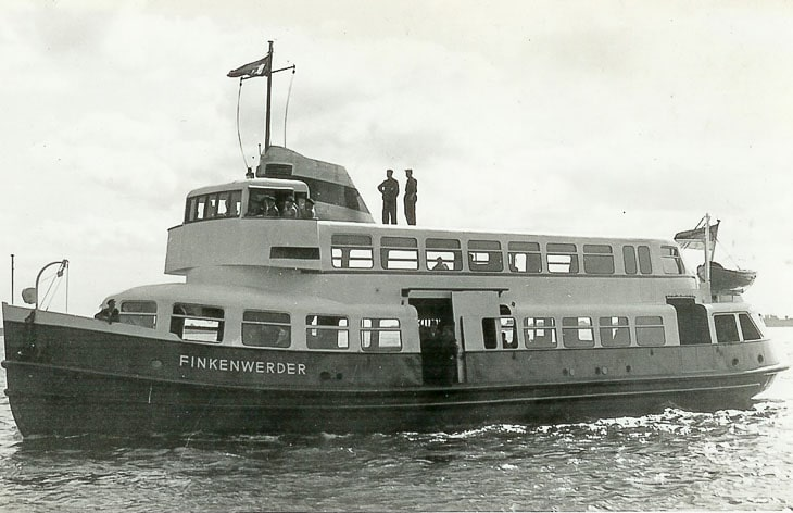 Typschiff-Prototyp FINKENWERDER (Foto: Uwe Rodewald)