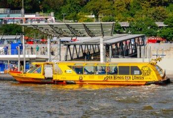 HADAG-Hafenfähre NALA in Hamburg