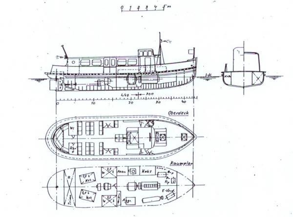 Bauplan Typ 0 BAUMWALL & HAFENTOR