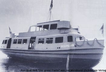 HADAG-Typschiff REEPERBAHN im Bauzustand