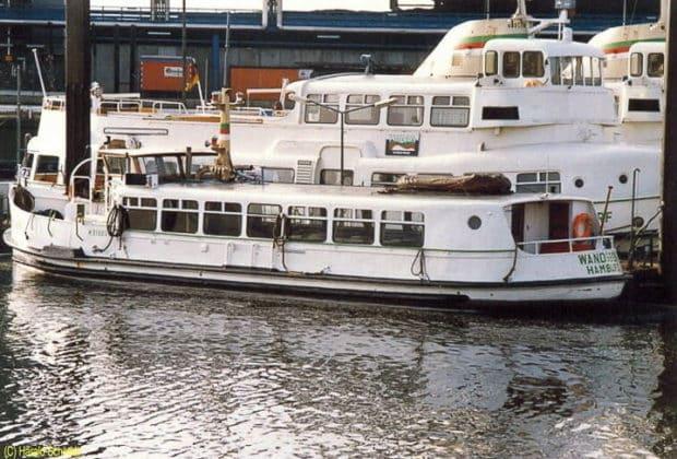 Ehemalige HADAG-Hafenfähre WANDSBEK